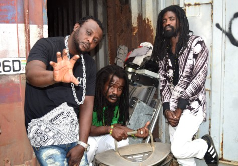 Dr Money, Ras Kuuku and Jah Shock